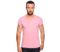 Kurzarm T-Shirt pink