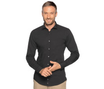 Business Hemd Slim Fit schwarz