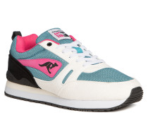 Sneaker türkis/weiß/pink