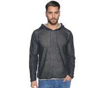 Pullover mit Leinen navy/grau