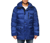 Winterjacke royalblau