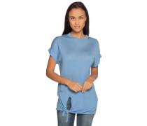 Strickshirt hellblau