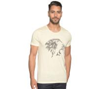 Kurzarm T-Shirt hellgelb