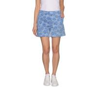 Shorts blau/weiß