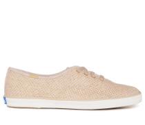 Sneaker beige/gold