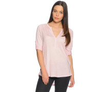 Langarm Blusenshirt rosa