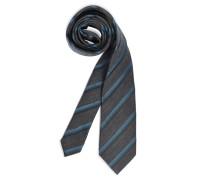 Krawatte blau/petrol gestreift