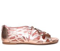 Sandalen rosegold