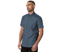 Kurzarmhemd Regular Fit blau