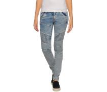 Jeans 5620 Elwood Custom Mid Skinny blau