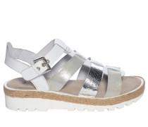 Sandalen, weiß