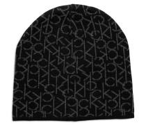 Mütze schwarz/grau