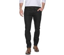 Jeans Arc Zip 3D Slim schwarz