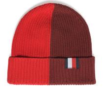 Mütze rot/bordeaux
