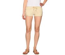 Shorts beige meliert