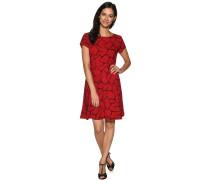 Kleid rot/schwarz