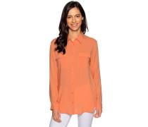 Langarm Bluse orange