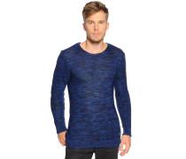 Pullover blau melange