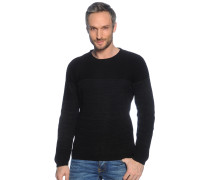 Pullover, schwarz/grau