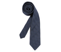 Krawatte blau kariert