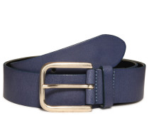 Ledergürtel, blau