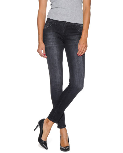 Jeggings, Schwarz, Damen