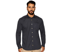 Langarm Hemd Regular Fit navy