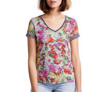 Kurzarm T-Shirt navy/mehrfarbig