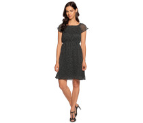 Kleid schwarz/weiß