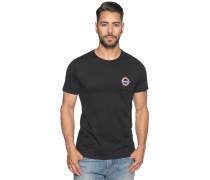 Kurzarm T-Shirt schwarz