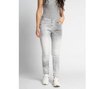 Jeans Skinny hellgrau