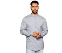 Business Hemd Slim Fit grau meliert