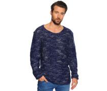 Pullover navy melange