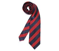 Krawatte rot/navy