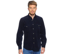 Hemd Regular Fit, navy