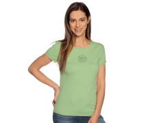 Kurzarm T-Shirt grün
