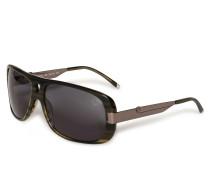Sonnenbrille anthrazit/silber