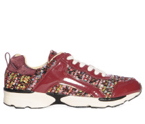 Sneaker mehrfarbig/bordeaux