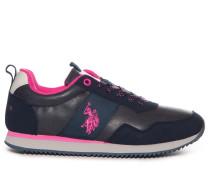 Sneaker navy/magenta