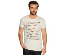 T-Shirt, Beige, Herren