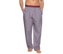 Pyjamahose navy/rot
