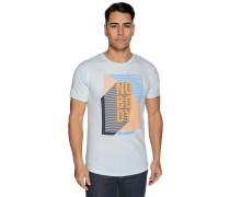 Kurzarm T-Shirt hellblau