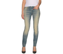 Jeans Lynn Mid Skinny blau