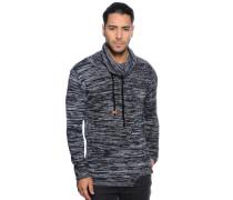 Pullover schwarz/weiß/meliert
