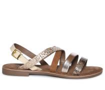 Sandalen offwhite/gold