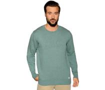 Pullover grün meliert