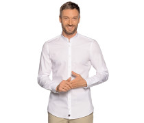 Business Hemd Slim Fit weiß