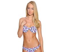 Bikinioberteil weiß/mehrfarbig