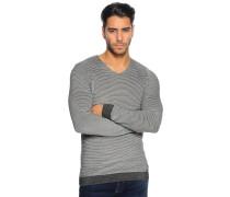 Pullover schwarz/melange