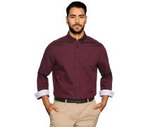 Business Hemd Custom Fit bordeaux